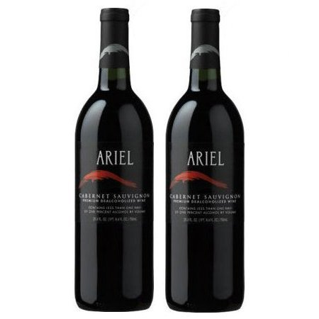 Ariel Cabernet Sauvignon Non-alcoholic Red Wine Two Pack- Best Non-Alcoholic Red Wine