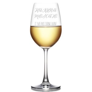 Moscato Wine Glass