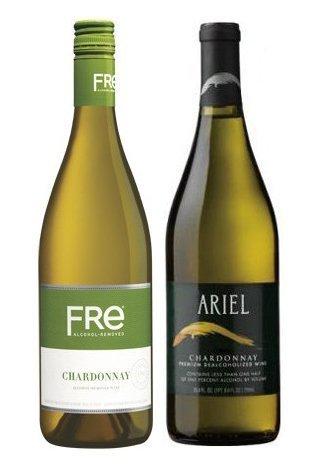 Non-Alcoholic Chardonnay White Wine Variety Two Pack- Best Non-Alcoholic White Wine