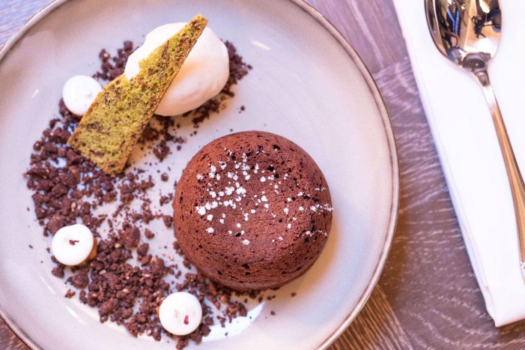 Chocolate Fondant Jamavar