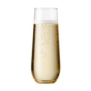 Plastic Stemless Champagne Glasses