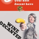 how to decant a wine without a decanter