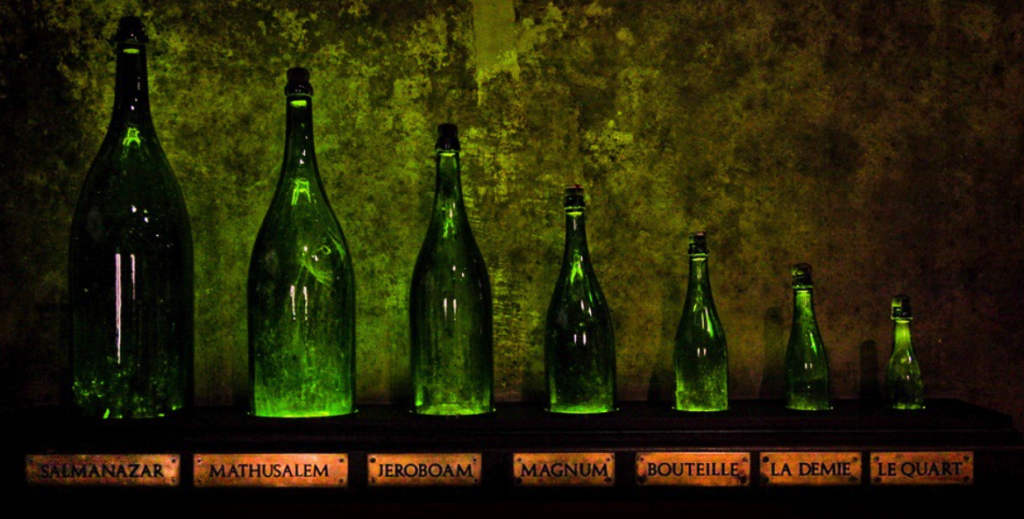 champagne bottle sizes