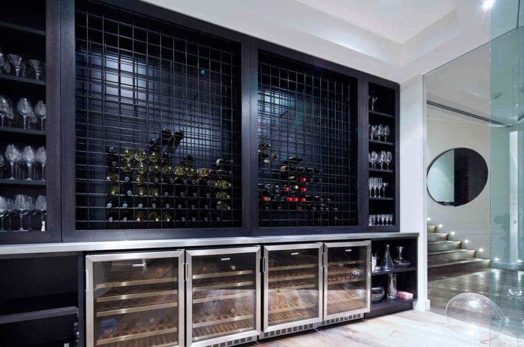 types of wine fridges